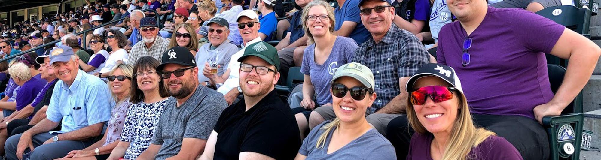 RRC Associates Team at Colorado Rockies Game